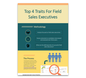 Top 4 Traits For Field Sales Executives